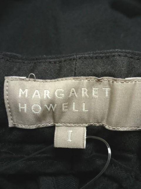 マーガレットハウエル MargaretHowell パンツ サイズ1 S レディース 美品 黒 麻混【中古】