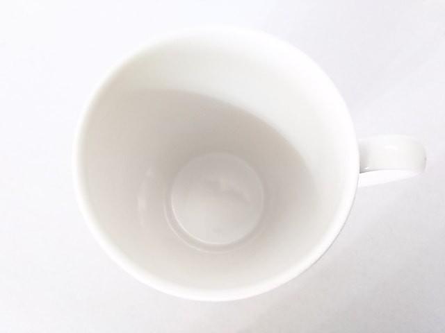 ジバンシー GIVENCHY マグカップ レディース 新品同様 白×グレー 陶器【中古】