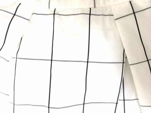 フレイアイディー FRAY I.D ワンピース サイズ0 XS レディース 美品 白×黒 チェック柄【中古】