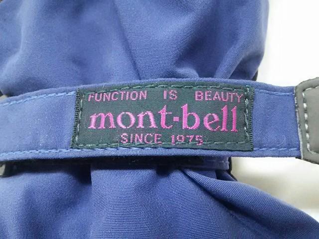 モンベル mont-bell 手袋 S メンズ パープル ナイロン【中古】