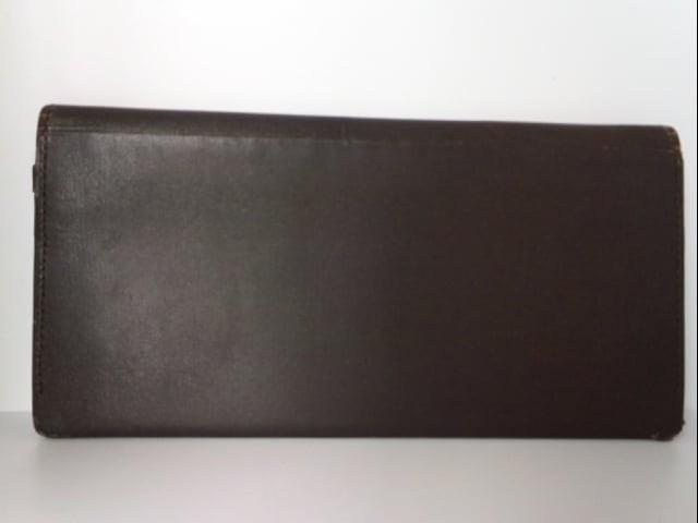 タケオキクチ TAKEOKIKUCHI 長財布 レディース ダークブラウン PVC(塩化ビニール)【中古】