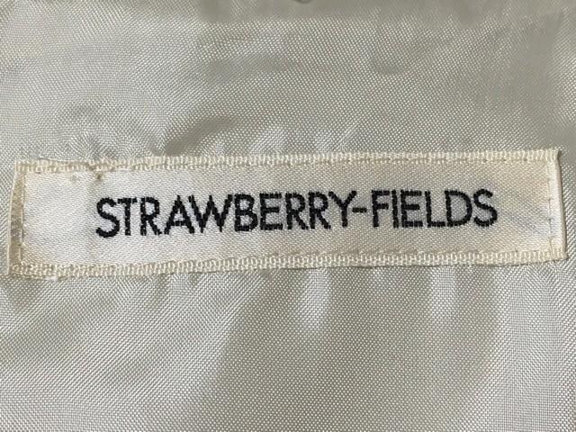 ストロベリーフィールズ STRAWBERRY-FIELDS ワンピース レディース 美品 アイボリー×黒【中古】