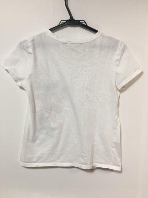 ヴィヴィアンタム VIVIENNE TAM 半袖Tシャツ サイズ0 XS レディース 美品 白×ピンク×マルチ 刺繍【中古】