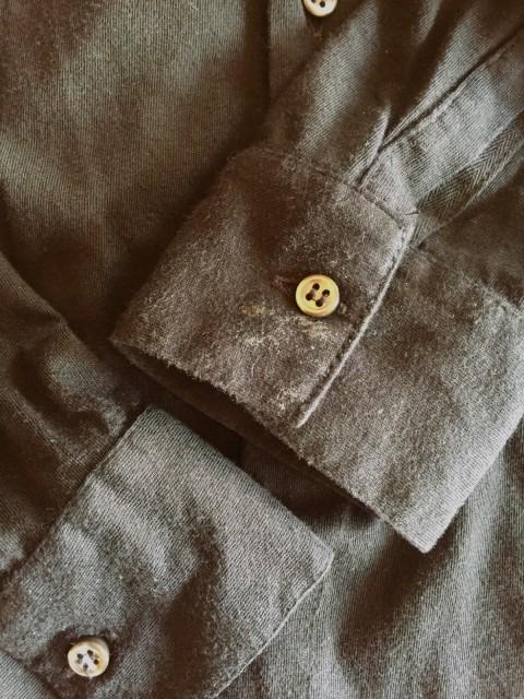 eb9f09b6d45f ロベルトコリーナ ROBERTO COLLINA 長袖シャツ サイズ48 M メンズ 黒 ...