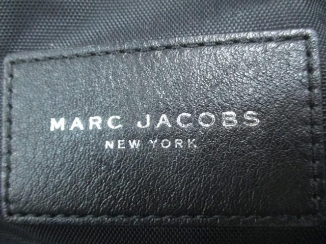 マークジェイコブス MARC JACOBS リュックサック レディース バイカーミニバックパック M0008298 黒 ナイロン×レザー【中古】