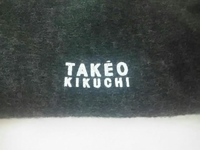 タケオキクチ TAKEOKIKUCHI 小物 レディース 新品同様 グレー×ベージュ×レッド アクリル×ナイロン×ウール【中古】