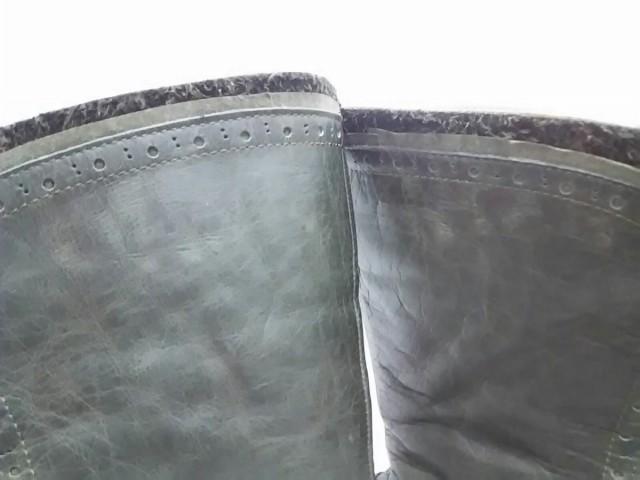 ヒミコ 卑弥呼 ブーツ 24 レディース カーキ ウェッジソール/レースアップ レザー【中古】