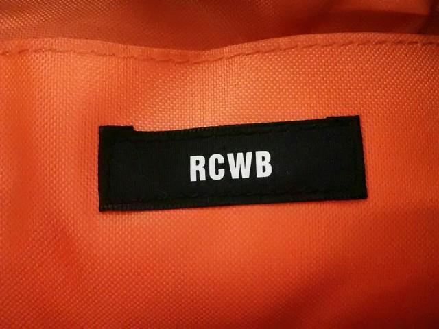 ロデオクラウンズ RCWB RODEOCROWNS WIDE BOWL ショルダーバッグ レディース 美品 ブルー×黒 巾着型 デニム【中古】