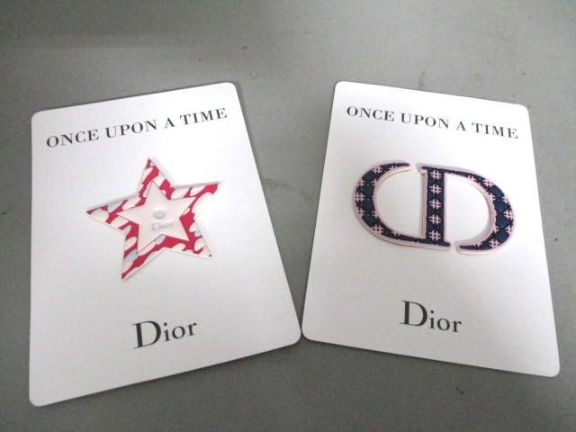 ディオールパフューム Dior Parfums 小物 レディース 新品同様 ネイビー×ピンク ワッペン ビニール【中古】