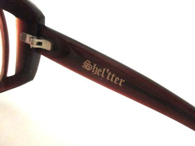 シェルターオリジナル Shel'tter ORIGINAL サングラス レディース 美品 ブラウン プラスチック【中古】