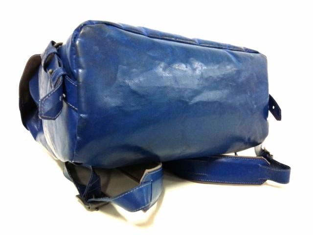 フライターグ FREITAG リュックサック レディース ブルー PVC(塩化ビニール)【中古】