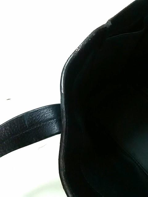ヴァレクストラ Valextra トートバッグ レディース 黒 レザー【中古】