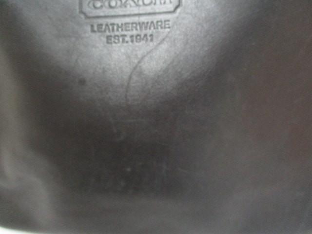 コーチ COACH トートバッグ レディース - 7598 黒 レザー【中古】