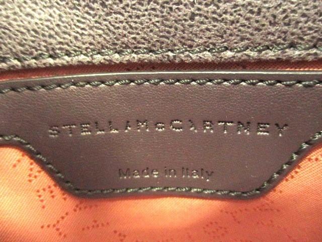 ステラマッカートニー stellamccartney ショルダーバッグ レディース ファラベラ ダークグレー×シルバー チェーンショルダー【中古】
