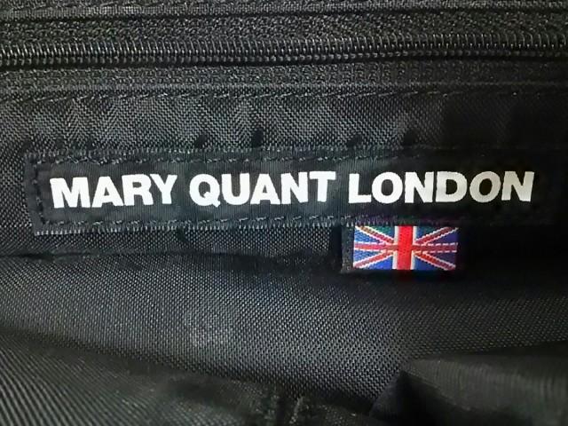マリークワント MARY QUANT ショルダーバッグ レディース 白×シルバー 合皮×金属素材【中古】