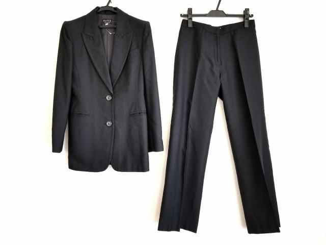 1b6fe45c0072 ユナイテッドアローズ UNITED ARROWS レディースパンツスーツ サイズ40 M レディース 黒 SLITS/肩パッド