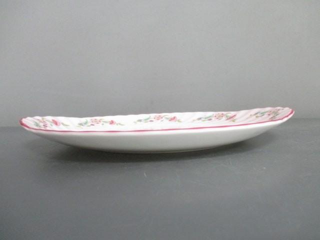 ミントン MINTON プレート レディース 新品同様 白×ピンク×マルチ 花柄 陶器【中古】