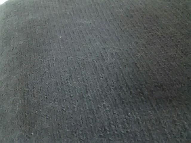 ローレンマヌージアン LAUREN MANOOGIAN マフラー レディース ダークグレー ポケット付き アルパカ【中古】
