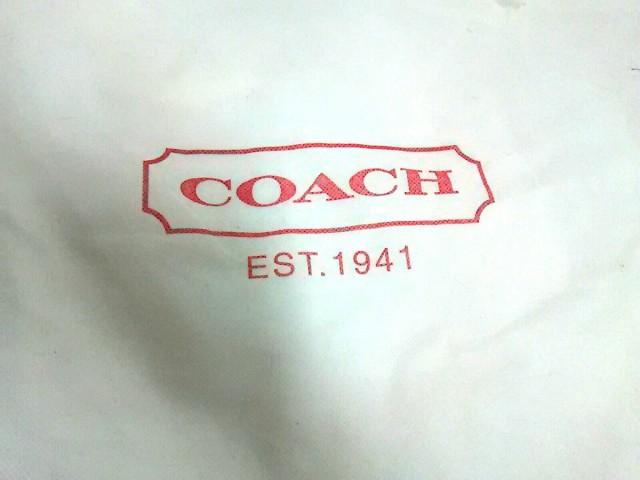 コーチ COACH トートバッグ レディース アシュレイレザーキャリオール F15513 黒 レザー【中古】