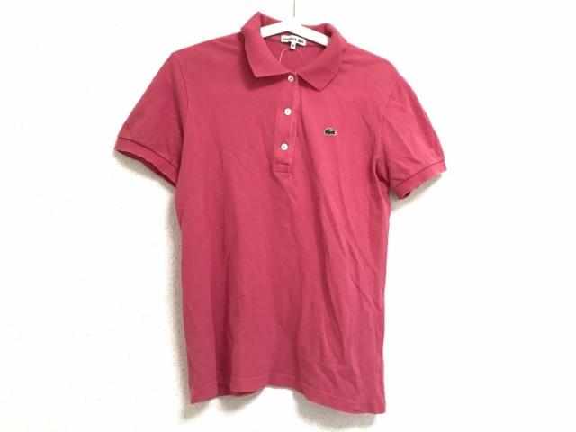 42b90cd134bb9 ラコステ Lacoste 半袖ポロシャツ サイズ44 L レディース ピンク 中古 ...
