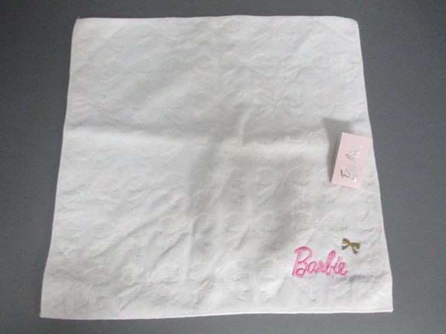 0cc4d05a53cf73 バービー Barbie ハンカチ レディース 美品 白 タオルハンカチ【中古】の ...