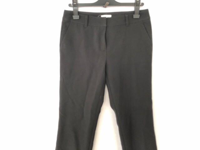 e75d39cd98fb トゥービーシック TO BE CHIC パンツ サイズ40 M レディース 黒 リボン【中古】