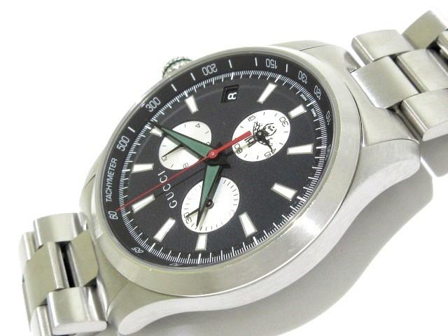 online store 3f2bc 65c81 グッチ GUCCI 腕時計 美品 Gタイムレス 126.2 メンズ 黒【中古】