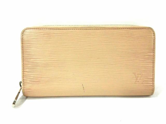 buy popular 7ca1c 3e146 ルイヴィトン LOUIS VUITTON 長財布 エピ レディース ジッピー・ウォレット M61860 デュンヌ  エピ・レザー(LVロゴの刻印入り)【中古】