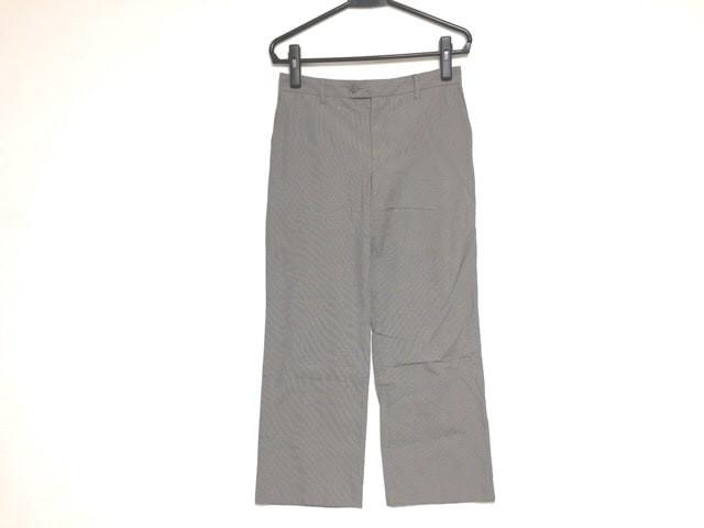 bdfe769e83b3 アニエスベー agnes b パンツ サイズ40 M レディース 黒×ライトグレー【中古】
