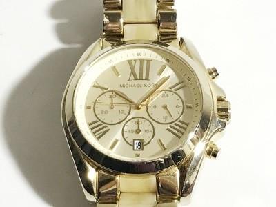 cab785a289d6 マイケルコース MICHAEL KORS 腕時計 MK-5722 メンズ クロノグラフ ゴールド【中古】