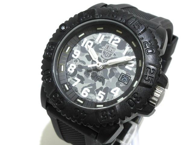 competitive price 4cb9c a095d ルミノックス LUMINOX 腕時計 - メンズ ライトグレー×グレー×ダークグレー【中古】