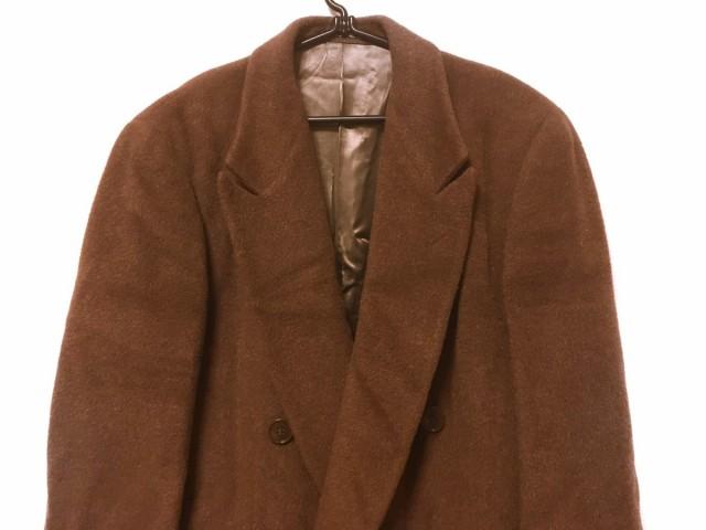 pretty nice e0ad9 0465b ジョルジオアルマーニ GIORGIOARMANI コート メンズ ブラウン 冬物/ロング丈【中古】