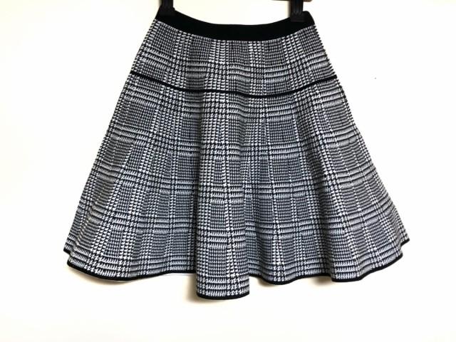 ルシェルブルー LE CIEL BLEU スカート レディース 美品 黒×白【】20200214