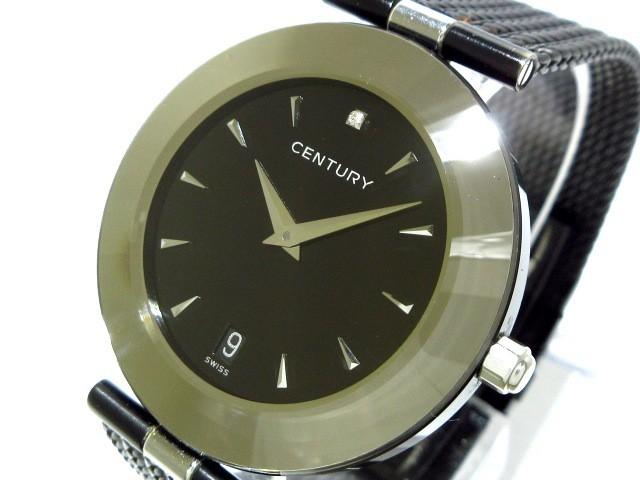 【日本限定モデル】 センチュリー メンズ CENTURY 腕時計 タイムジェム - 腕時計 メンズ タイムジェム 黒【】20190731, 明日香村:0e1c8eb5 --- 1gc.de