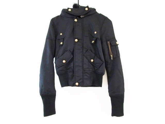 スライ SLY ダウンジャケット サイズ2 M レディース 黒 冬物/キルティング【】20190827