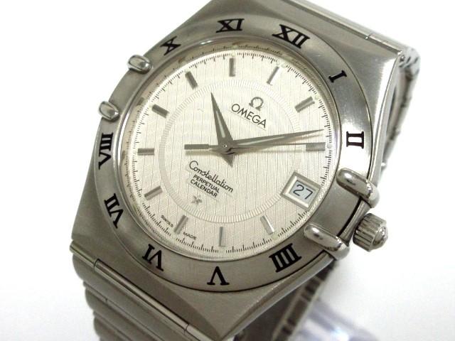 【テレビで話題】 オメガ OMEGA 腕時計 美品 コンステレーション - メンズ 白【】20190927, 介護用品専門店たまひこ b6689247