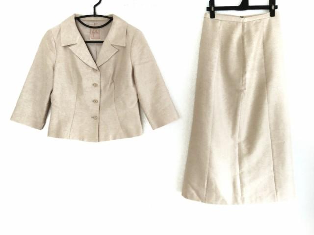 シビラ Sybilla スカートスーツ サイズL レディース - - ベージュ 七分袖/ロングスカート【】20191003