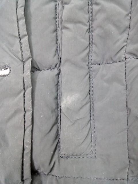 ダウンジャケット ファー取外し可 TATRAS LTA-4174 冬物/ レディース 黒 サイズ02 【中古】 (タトラス) M