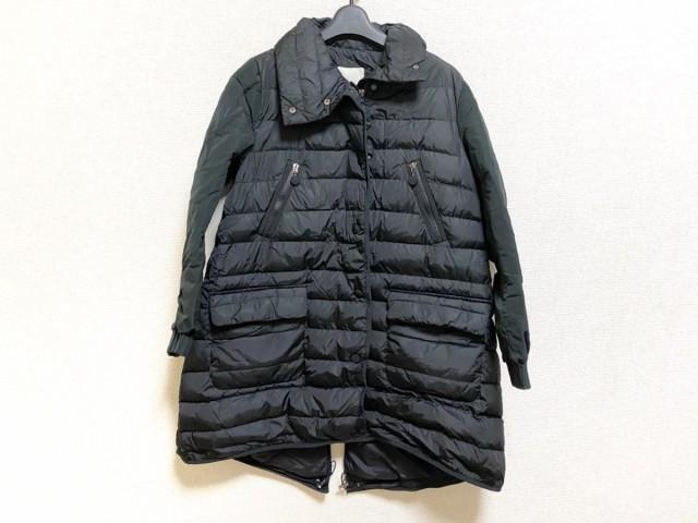新しいスタイル モンクレール MONCLER ダウンコート サイズ2 M レディース STAUMIES 黒 冬物【】20200201, カスミチョウ b0866f85