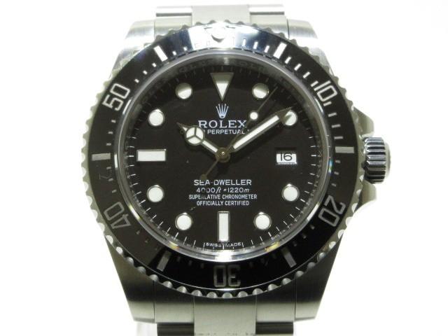 激安通販の ロレックス 116600 ROLEX 腕時計 シードゥエラー4000 116600 メンズ SS/ランダムルーレット/10コマ メンズ ロレックス 黒【】20200208, レザーケース:62fab155 --- standleitung-vdsl-feste-ip.de