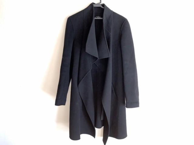 ジョセフ JOSEPH コート サイズ38 L レディース 黒 冬物【】20200212