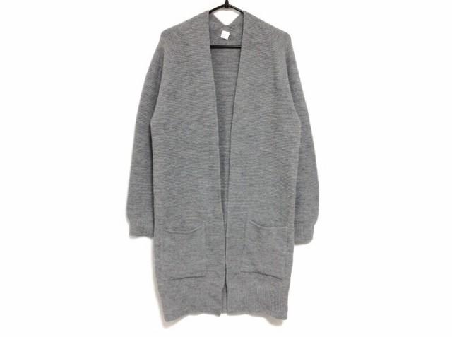 ノーリーズ NOLLEY'S コート サイズ38 M レディース 美品 グレー ニット/春・秋物【】20200211
