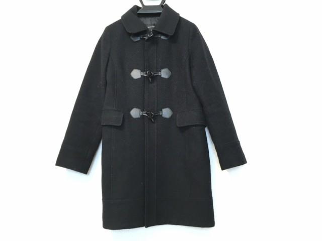 クイーンズコート QUEENS COURT ダッフルコート サイズ2 M レディース - 黒 長袖/冬【】20200310