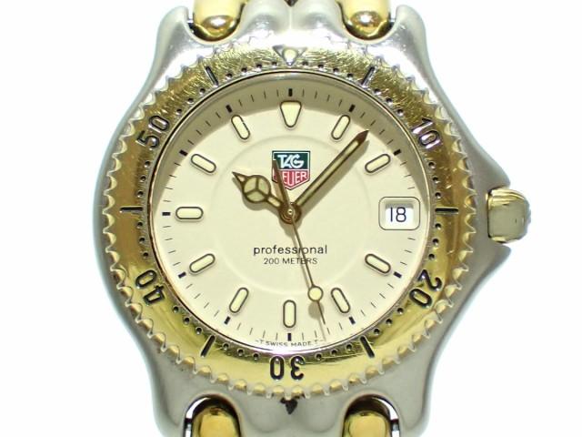 祝開店!大放出セール開催中 タグホイヤー TAG WG1121-0 Heuer 腕時計 腕時計 プロフェッショナル200 WG1121-0 メンズ アイボリー【 TAG】20200303, タクシ:40acaab1 --- 1gc.de