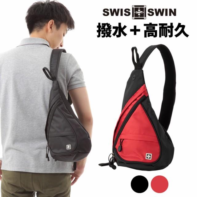 SWISSWIN SW9966 ショルダーバッグ メンズバッグ レディースバッグ ボディーバッグ 防水バッグ 人気 旅行スクールバッグ 男女兼用