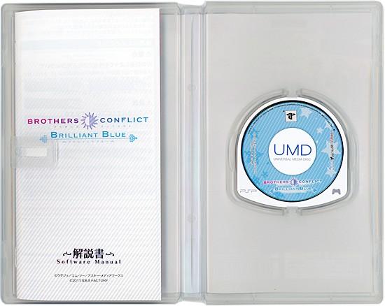 【中古】BROTHERS CONFLICT Brilliant Blue 限定版★PSP★【即納】≪アイディアファクトリー ソフト≫