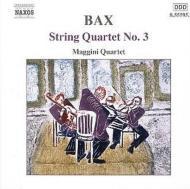 【CD輸入】 Bax バックス / 弦楽四重奏曲第3番 / 叙情的間奏曲 / 他 マッジーニ四重奏団 / ジャクソン