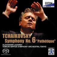 【SACD国内】 Tchaikovsky チャイコフスキー / チャイコフスキー:交響曲第6番『悲愴』 ラザレフ&読売日本交響楽団 送料無料