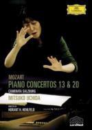 【DVD】 Mozart モーツァルト / ピアノ協奏曲第13番、第20番 内田光子&カメラータ・ザルツブルク