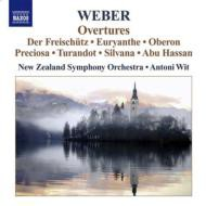 【CD輸入】 Weber ベーバー / 序曲集 ヴィト&ニュージーランド交響楽団